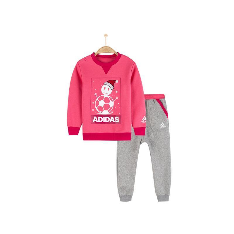 ¥89 阿迪达斯 童装针织套装