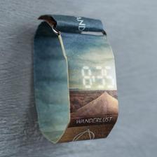 德国Papr watch 概念纸质手表 防水撕不烂 12.9元包邮