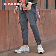 KAPPA卡帕男运动长裤休闲裤卫裤跑步健身小脚裤|K0752AK21 164元