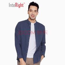 InteRight 法国雨露麻棉 男士长袖衬衫 低至24.5元(需用券)
