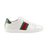 GUCCI 古驰 Ace系列 女士简约红绿织带绿尾小白鞋休闲 3013.44元包邮