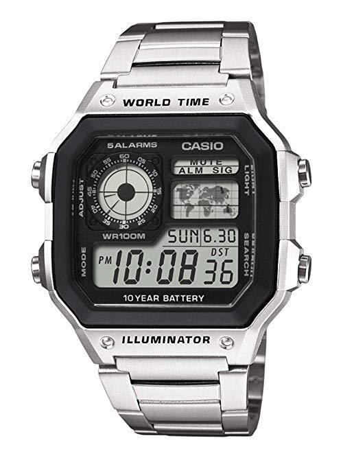 卡西欧(CASIO) AE-1200WHD-1AVEF 男款石英腕表 210.44元