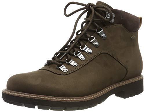 中亚Prime会员: Clarks Batcombealpgtx Biker 男士工装靴 356.27元含税包邮