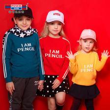 ¥48 pencilclub 铅笔俱乐部 男女童针织衫