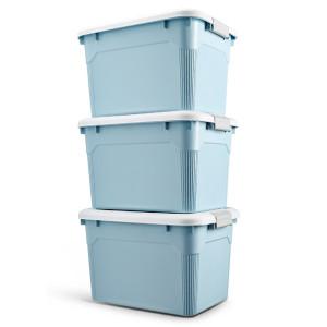 W.Q.T 塑料收纳箱 3个装 49元包邮 平常79元