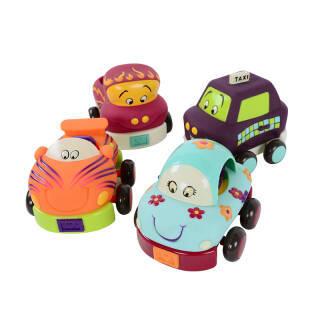 京东PLUS会员:B.Toys 比乐 胶质滑行回力车 149.18元