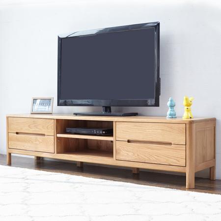 维莎 w0523 日式全实木电视柜 1.8m 1160元包邮 ¥1160