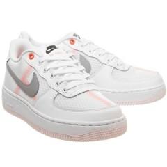 UK5.5码!Nike 耐克 Air Force 1 空军1号 白灰色运动鞋