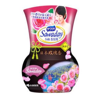 17元 小林 香居源空气芳香剂玫瑰香350ml*3件