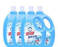Baimao 白猫 高效洁净洗衣液 3KG*4瓶 ¥54.90