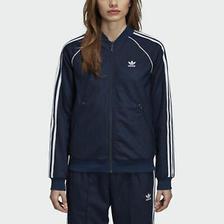 折合157.95元 adidas 阿迪达斯 SST Track 女士运动外套