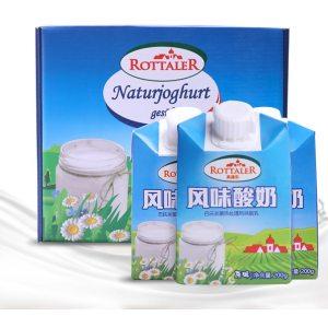 奥地利原装进口 Rottale 风味酸奶 200g*24盒 79元包邮