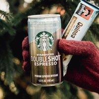 冷萃咖啡$12.21 Doubleshot 仅$14.52 Starbucks 玻璃瓶装冷萃咖啡等饮料特卖