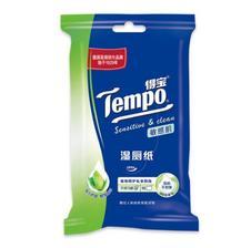 华北: 得宝 湿厕纸 敏感肌保湿 10片装 1元
