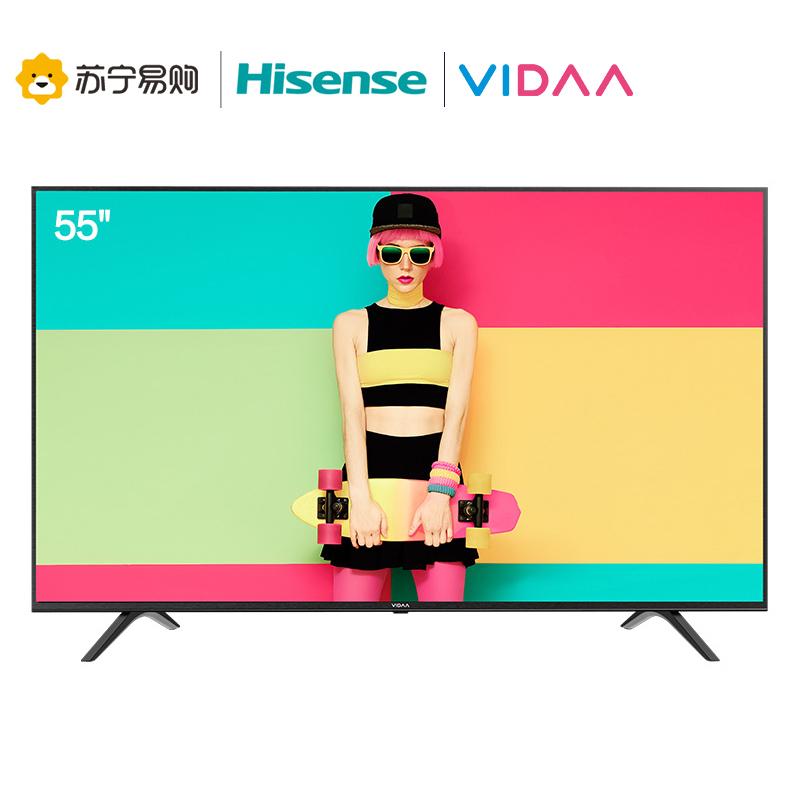 海信(Hisense) 55V1A 55英寸 液晶电视 1799元