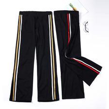 阔腿裤显瘦开叉宽松高腰黑色直筒薄款裤子 券后¥8.9