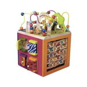 ¥409 B.Toys 比乐 动物园活动木立方