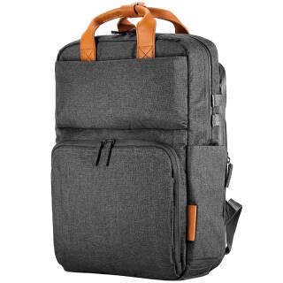 惠普(HP)电脑包双肩包男女15.6英寸ENVY暗影精灵4/pro游戏包笔记本商务背包防雨3KJ72灰 248元