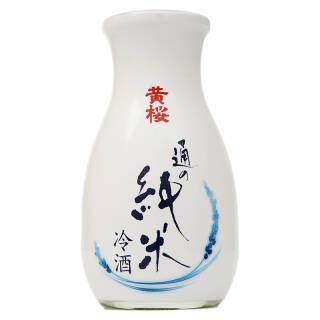 黄樱纯米冷清酒 日本原装进口清酒洋酒180ml *2件 70.4元(合35.2元/件)