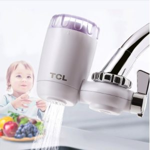 TCL 厨房净水龙头 净水器 5μm第3代陶瓷复合滤芯 78元包邮 1机5芯可用2年半