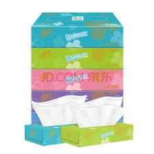 ¥11.07 清风 Junior系列 原木抽纸盒抽 3层70抽*5盒