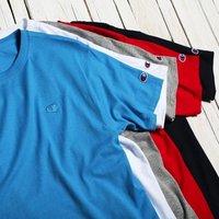 $9.99起 + 包邮 Champion Classic 纯色休闲运动T恤促销 多色可选