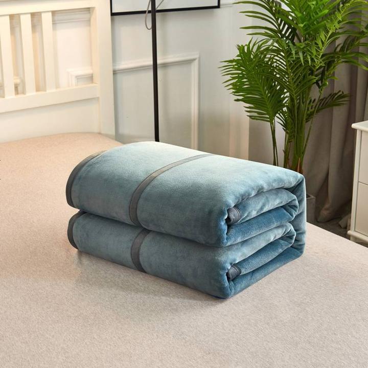 素风家纺 高密度法莱绒毛毯 150*200cm 3斤 68元包邮