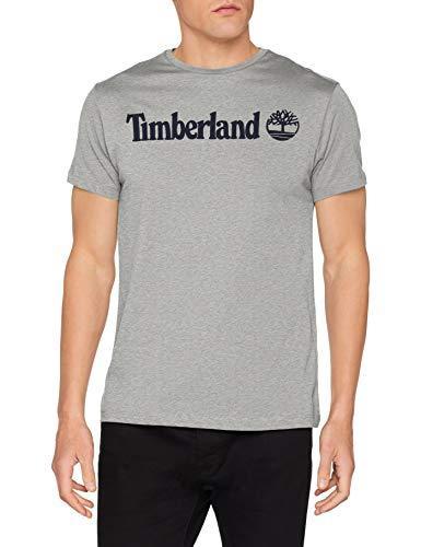 ¥128.96 Timberland 添柏岚 CA1NQ8 男士标志纯棉短袖T恤 多色多码