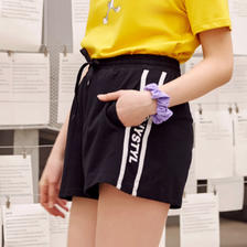 ¥20.8 Meters bonwe 美特斯邦威 749582 女士休闲短裤