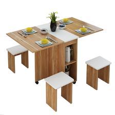 PADEN 小户型折叠餐桌 配凳子 315.8元包邮