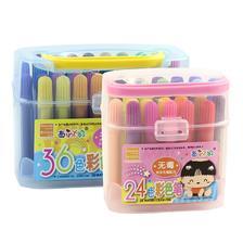 西瓜太郎 儿童美术绘画涂鸦水彩笔 24色/盒 6.8元包邮