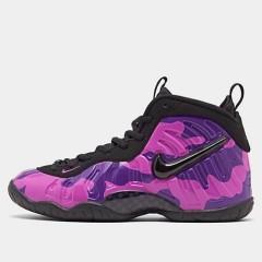 【额外7.5折】Nike Little Posite One 大童款篮球鞋 紫迷彩