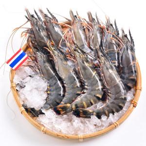 泰国进口 活冻黑虎虾 400g 约16-20只 拍3件139.7元 之前62.9元/件