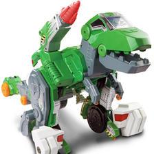 伟易达变形恐龙智能声控霸王龙可变汽车男孩机器人4-6岁儿童玩具 369元