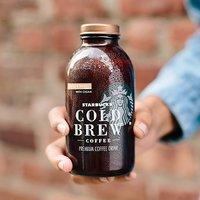 冷萃咖啡$12.77起 冷萃咖啡一瓶$2.12 Starbucks 玻璃瓶装冷萃咖啡等饮料特卖