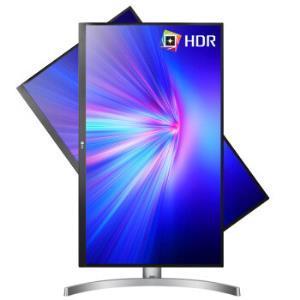 ¥2599 LG 27UL650 27英寸显示器(4K、HDR400、sRGB99%、FreeSync)