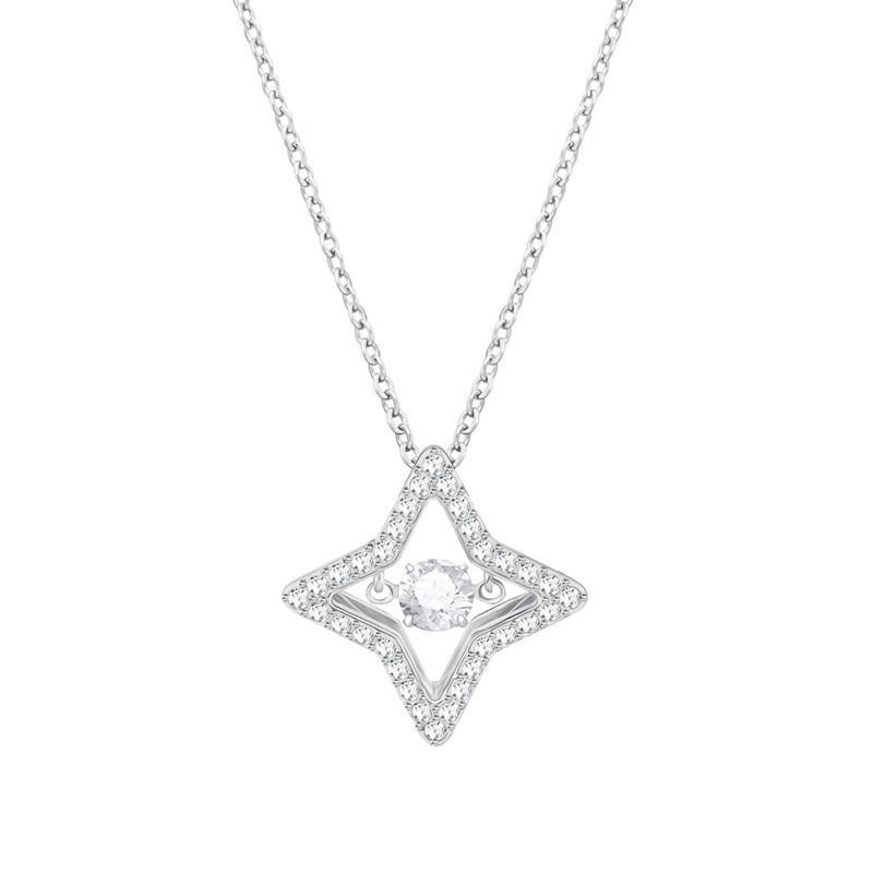 SWAROVSKI 施华洛世奇 跳动的心 5349654 四角星星项链 *3件 1040.25元(合346.75元/件)