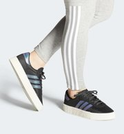 折合275.62元 国内¥ 899!Adidas阿迪达斯 SAMBAROSE 女子经典运动鞋'
