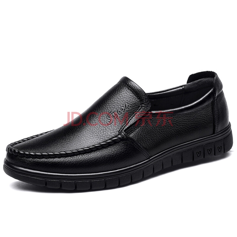 ¥87.2 EGCHI 宜驰 36274 男士套脚加绒皮鞋