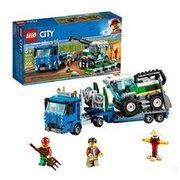 $16.6(原價$29.99) 再降史低價:LEGO City 系列 收割機運輸車 60223'