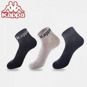 Kappa 卡帕 男士短襪 3雙裝(買一贈一實得6雙)