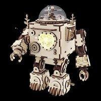 $19.49(原价$32.99)起ROBOTIME 3D 胸口会亮的机器人、 玩具宝盒音乐盒
