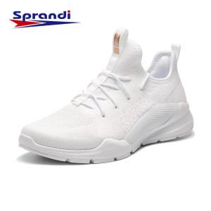 英国 斯潘迪 19新款 厚底增高 女透气休闲运动鞋 一体飞织鞋面 219元66清仓价 正价569元