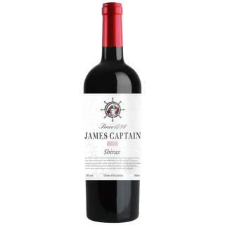 澳洲原瓶进口红酒 詹姆士船长白标西拉干红葡萄酒750ml 单支装 *11件 331.2元(合30.11元/件)