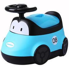 世纪宝贝(babyhood) ENEN-116 小汽车坐便器 蓝色 44.5元