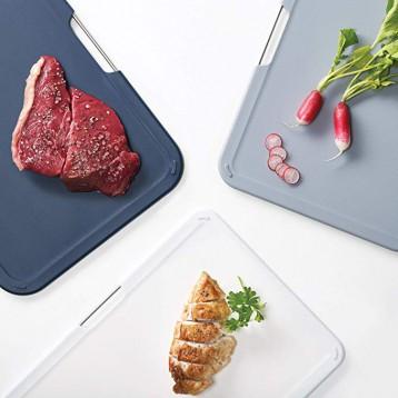 升级款,Joeph Joseph Jos分类健康菜板3件套 灰色大号60164 7.2折 直邮中国 ¥344.1