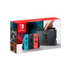 【11号20点】Nintendo 任天堂 Switch 掌上游戏机便携 Switch NS 红蓝手柄 日版