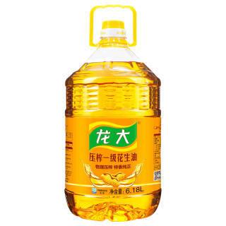 龙大(LONG DA) 压榨一级 花生油 *2件 214.2元(合107.1元/件)