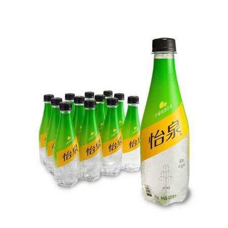 限北京、88VIP:Schweppes 怡泉 柠檬味苏打水饮料 400ml*12瓶 *2件 79.86元(双重优惠) ¥60