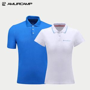 Amurcamp 男女修身弹力Polo衫 超高分好评 44元包邮